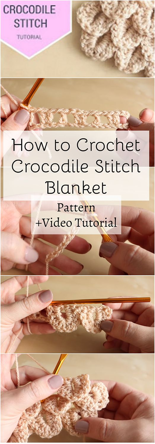 Want to Crochet crocodile stitch blanket pattern? This article is for you... It covers the topic step-by-step and we included an additional video for you!