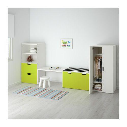 STUVA Storage combination White/white IKEA | Hanger, Storage and ...