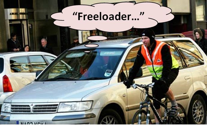 Mythbusting: Cyclists don't Pay