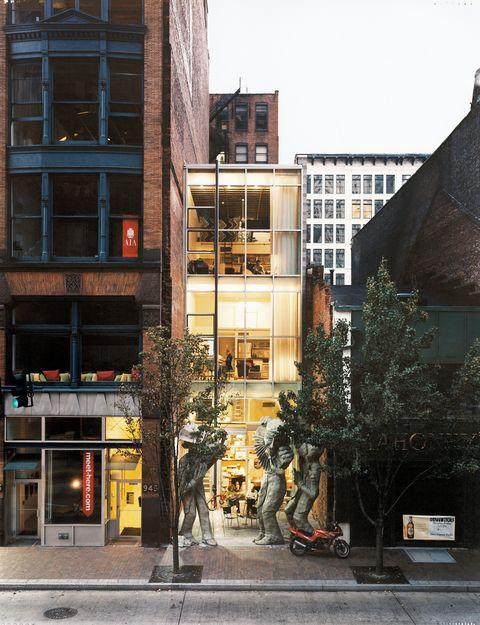 Urban Renaissance Edge Studio Apartment Building