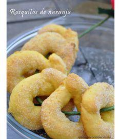 Rosquitos de naranja | Cocina con gusto