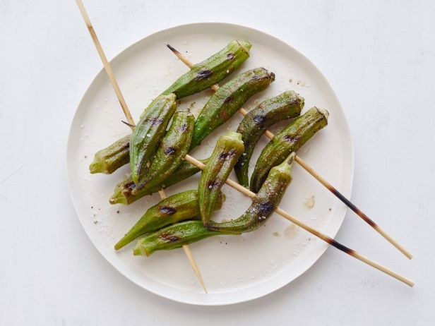 Grilled Okra #GrillingCentral: Grilled Okra, Grilled Veggies, Grilling 101, Grillin Food, Grillin Outdoor Cooking Fun, Grilling Fun, Grilled Friends Vegetables, Cooking Sid, Okra Grillingcentr