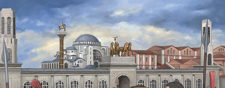 Los tejados de Bizancio