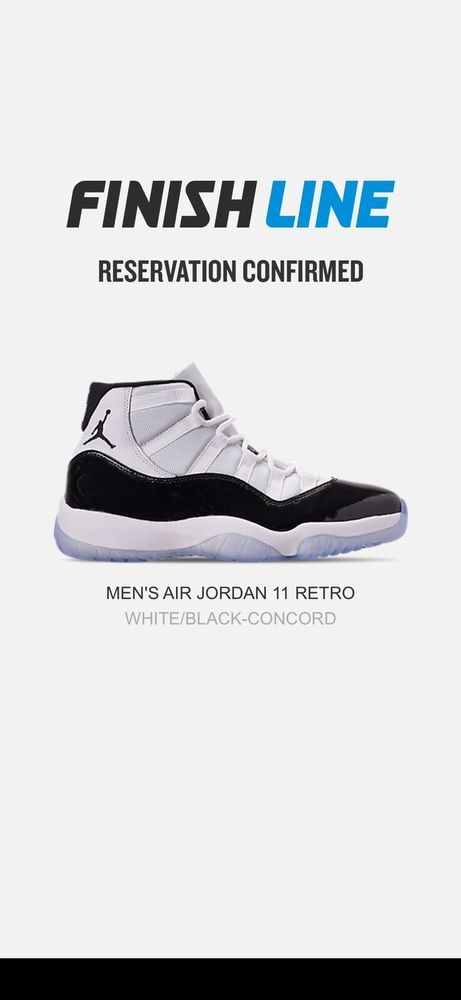 buy online 79fcb 20a1d Air Jordan 11 Retro Concord 2018 Release Size 10 W Receipt  fashion   clothing  shoes  accessories  mensshoes  athleticshoes (ebay link)