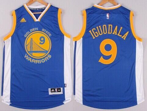 golden state warriors 9 andre iguodala revolution 30 swingman 2014 new blue  jersey 6262548b7