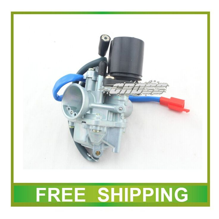 GY6 scooter 50cc 70cc 90cc JOG50 XH90 PZ19 19mm carburetor with electric choke cable free shipping