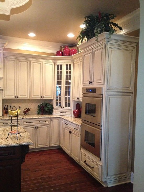 must have the double Wall ovens | Kitchen | Corner stove ...