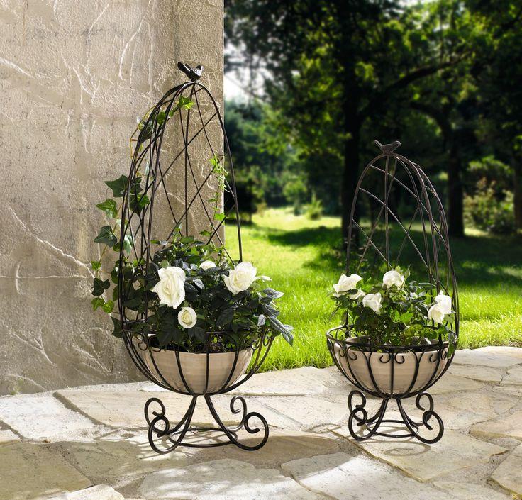 14 besten pflanzgefäße & rankhilfen bilder auf pinterest, Hause und Garten