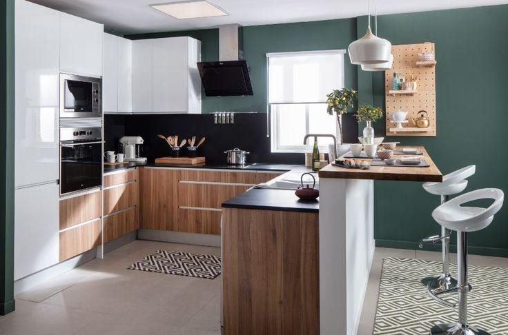 84 best sue a tu cocina images on pinterest breakfast for Acabados de muebles de cocina