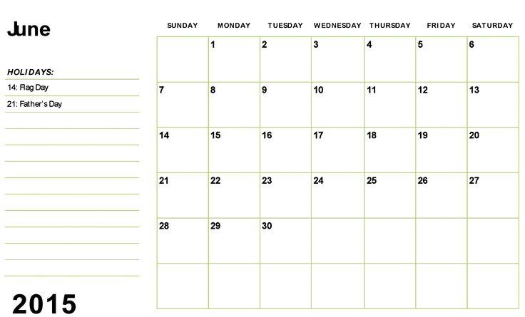 June 2015 Calendar Printable Template Architecture Modern Idea