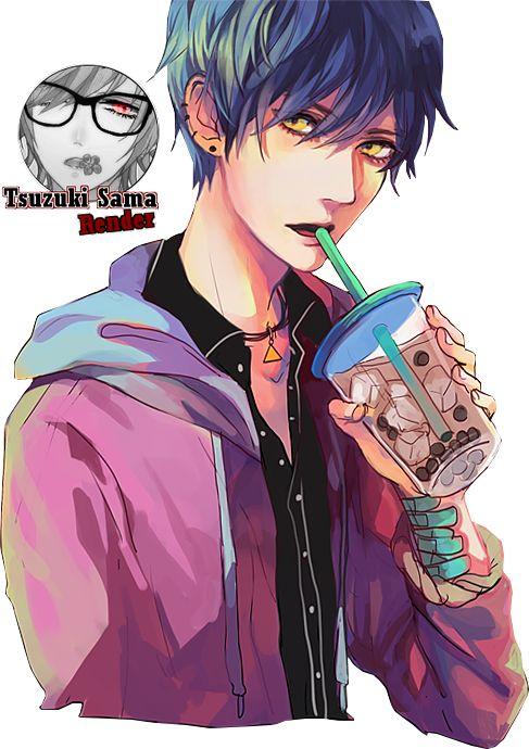 Render Animes Et Manga Renders Handsome Guy Render