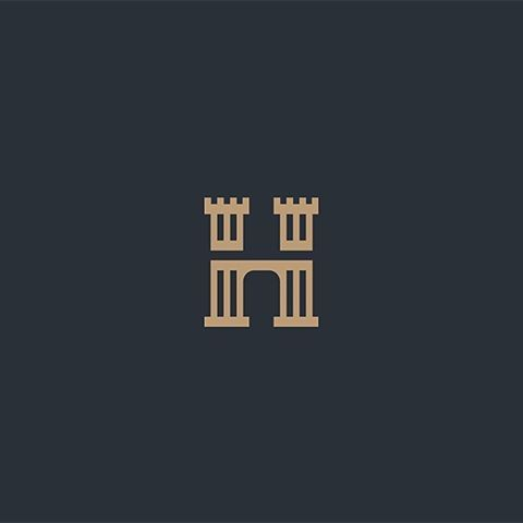 H Monogram by Dalibor Pajic @pajic_dalibor - LEARN LOGO DESIGN  http://ift.tt/2c5qZY9 - Want to be featured next? Follow us and tag #logoinspirations in your post