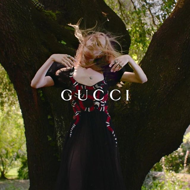 Here's the new Gucci film I directed in #giardinodininfa #italy Such a delightful temptation playing in the garden of Eden. Thank you @gucci #alessandromichele #guccigift #GucciGarden