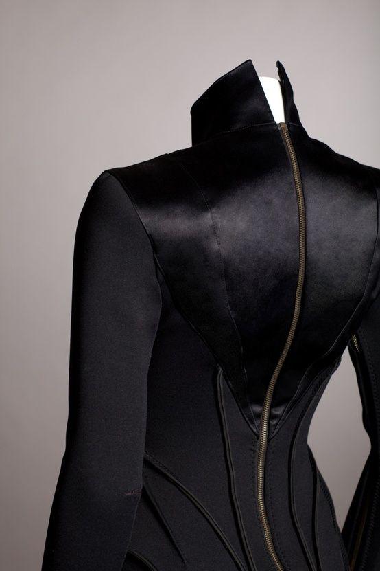 future fashion, black clothing, avant-garde, futuristic clothing, futuristic fashion, future, futuristic, black, clothing by Havita