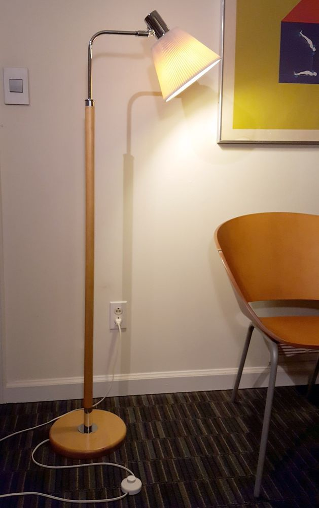 1980s Koch & Lowy for Ikea! (With images) | Wood floor lamp