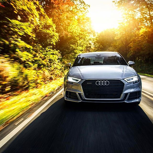 A good drive feels like time has stopped. #AudiA3