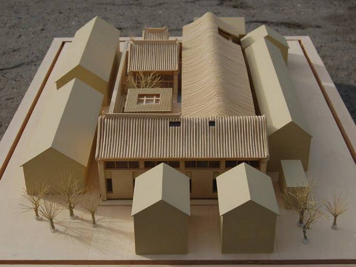 balsa wood model making  A scale replica of something?!?