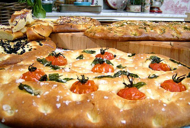 Enkel focaccia, Leilas recept | Recept från Köket.se