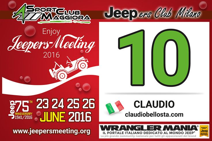 Sport Club Maggiora - Jeepers Meeting 2016