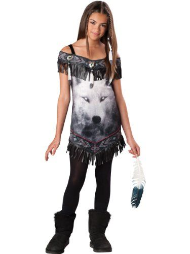 girlu0027s native halloween costumes costume lg