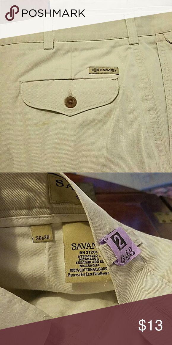 SAVAGE MEN'S PANTS Like nw Savane Pants Chinos & Khakis
