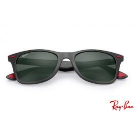 075840ad3b0 Ray Bans RB4195M Scuderia Ferrari Collection with Black frame and Green  Classic lenses