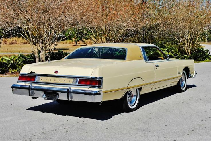1976 Mercury Grand Marquis Two Door Hardtop