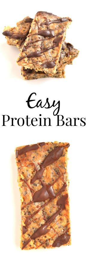 These Easy Protein Bars contain only 7 ingredients and take 5 minutes to make. Super tasty and much more affordable than store-bought bars! www.nutritionistreviews.com #protein #newyear #healthy #snack #bar #cleaneats #cleaneating #food #healthyrecipes