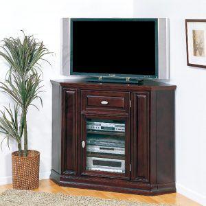 Tall Corner Television Cabinet