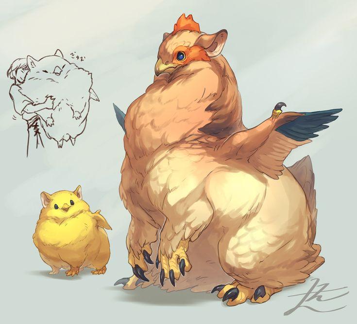 GOMALEMO WORK – Chicken Griffin