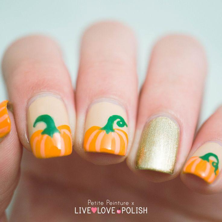 Best 25+ Pumpkin nail art ideas on Pinterest   Cute ...
