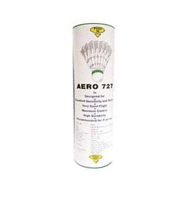 Cosco Aero 727 Shuttle Cock Badminton at lowest prices!   http://www.snapdeal.com/product/sports-hobbies-badminton/CoscoAero7-90114?pos=27;768#