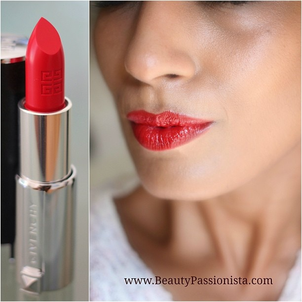 Day 231 Givenchy Le Rouge in Carmin Escarpin