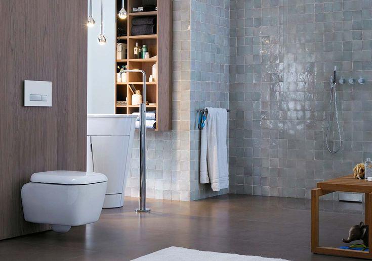 Teknologi bak veggen - Toalett - Baderomsdesign med sanitærteknologi fra Geberit