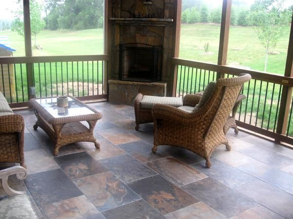17 best images about fireplace ideas for our screened for Wood burning stove for screened porch