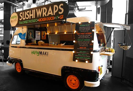 sushi catering vegetarian vegan street food, event wedding catering sushi special