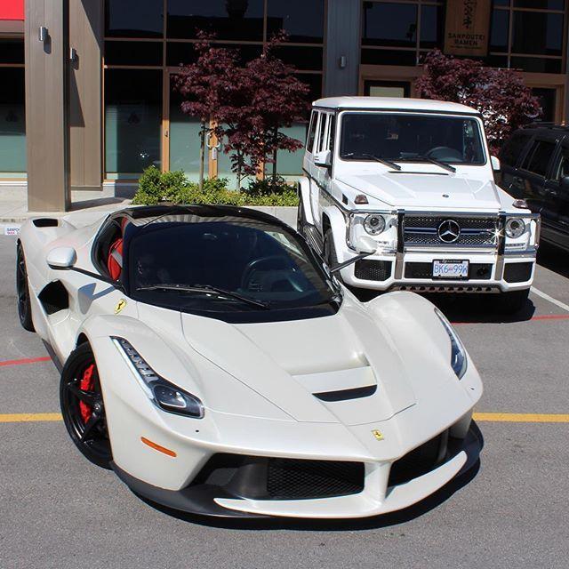 Laferrari In Richmond @exotics_bc Follow : @supercarspec #Laferrari  #Mercedes #Lambo #