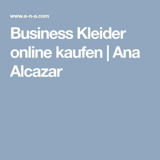 Business Kleider online kaufen | Ana Alcazar