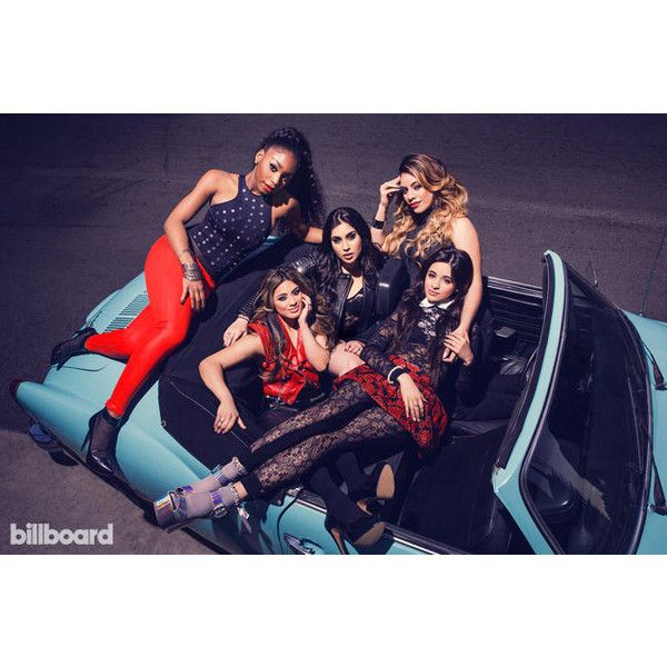 Fifth Harmony The Billboard Photo Shoot ❤ liked on Polyvore featuring fifth harmony