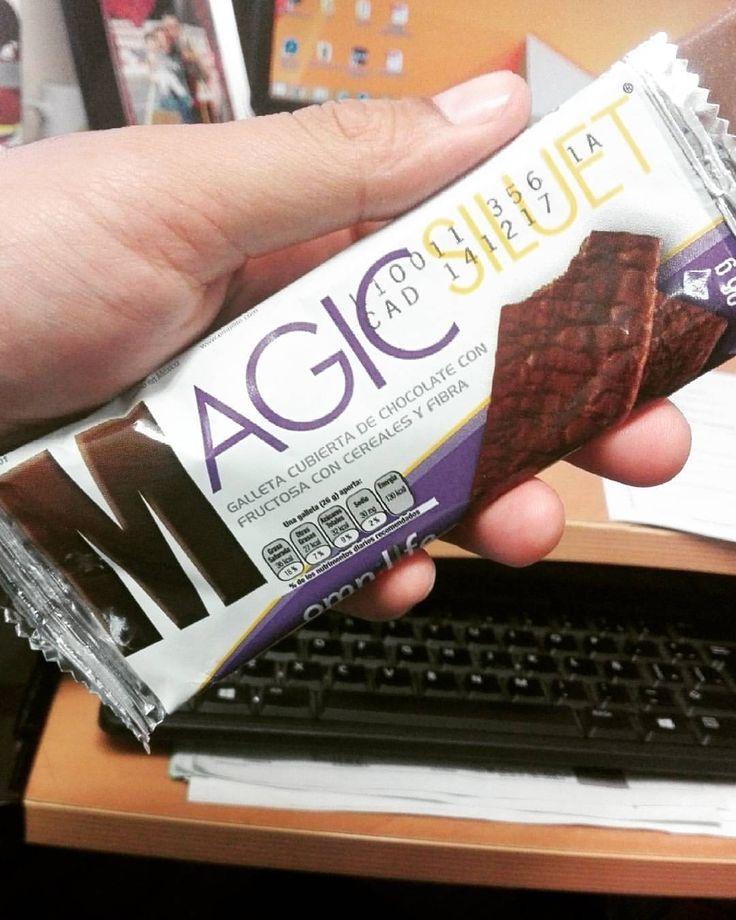 #MagicSiluet Riquísima galleta cubierta de chocolate con fructuosa, cereales y fibra, Tu mejor antojó! #NutreTuVida #Nutrición #Salud #México #Colombia #USA #Argentina #Ecuador #Guatemala #RedSin #Perú #Negocio #Emprendimiento