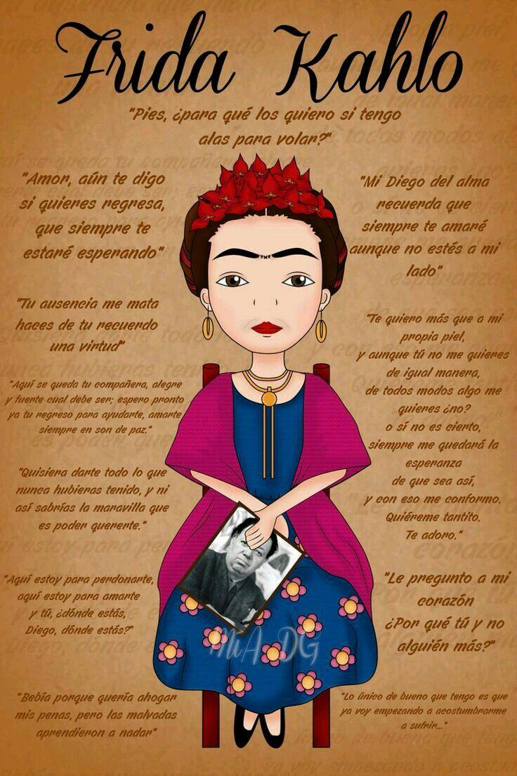 Frases De Frida Kahlo Frida Quotes Frida Diego Frida Kahlo