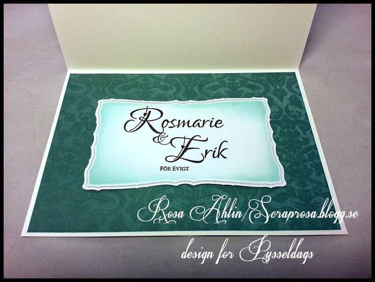 Pysseldags: Radiant rectangles på bröllopskort av DT-Rosa - en personlig stämpel man kan beställa hos Pysseldags  http://blog.pysseldags.com/2014/08/radiant-rectangles-pa-brollopskort.html