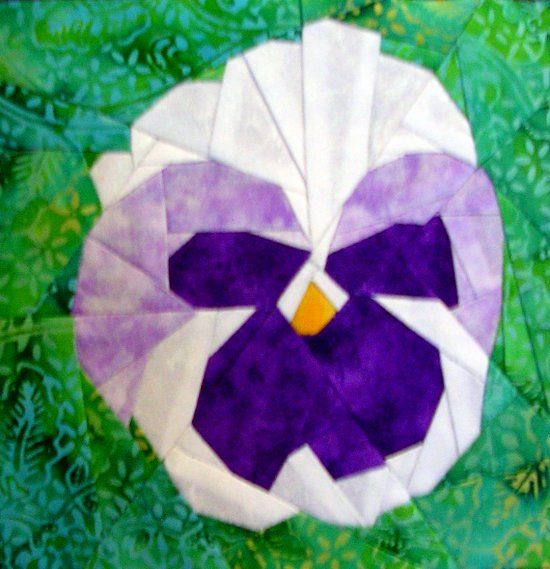 Silver Linings Quilting Pattern Pansy Pleasing Pieced