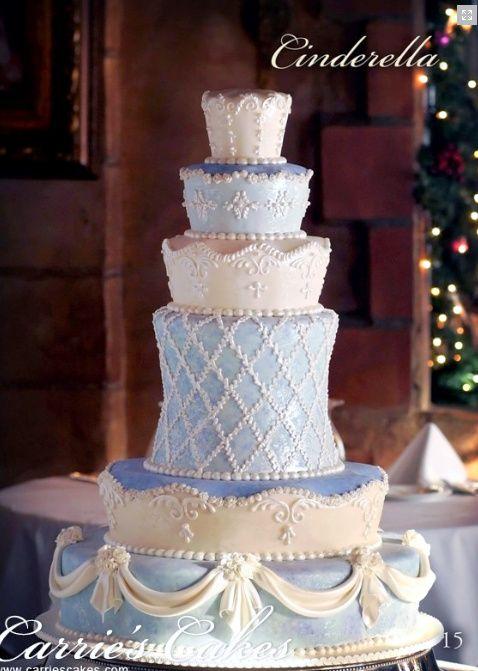 Fantasy Theme Wedding Ideas - Cinderella Wedding Cake