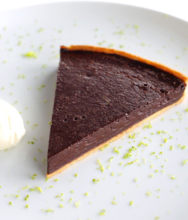 This chocolate tart recipe brings in the fresh flavour of lime with the spicy kick of chilli for a fantastic finish to any meal. - Robert Thompson