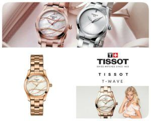 The Tissot T-Wave is a piece of jewellery that can be worn at any occasion, adding a touch of sophistication to a daily outfit or complimenting a cocktail dress for a special occasion.