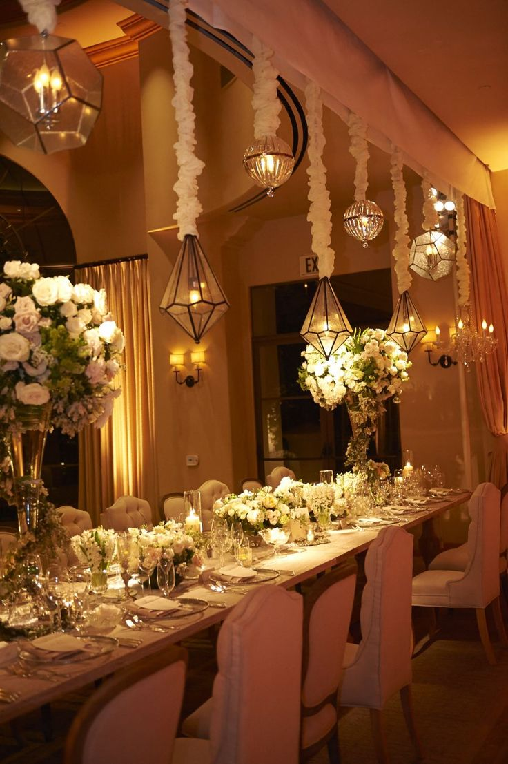 Overhead lighting and green idea wedding ideas pinterest weddings arubaitofo Image collections
