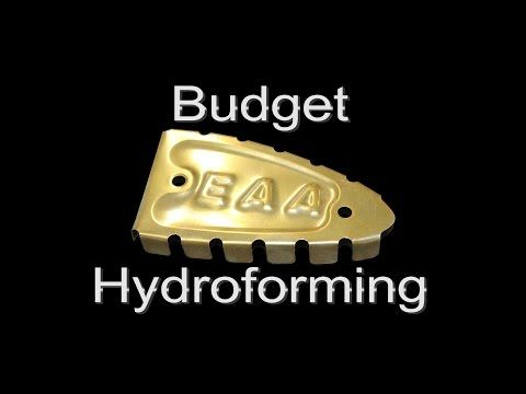"""Watch """"Low Cost Hydroforming"""" on YouTube Not really hydroforming."""