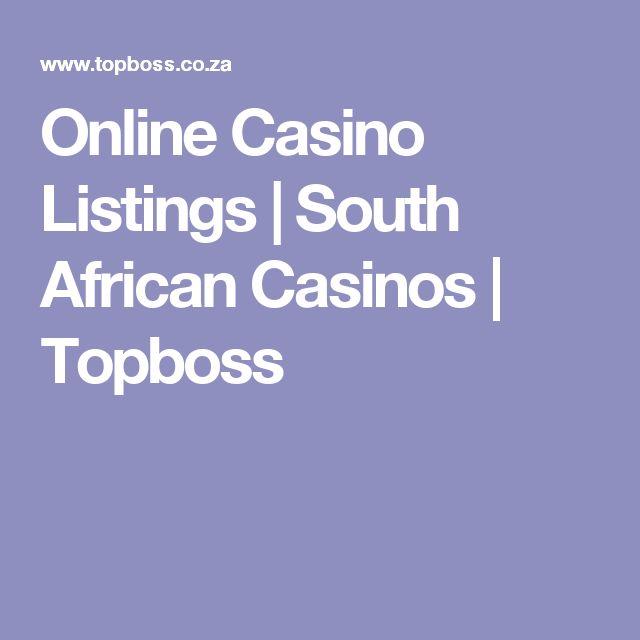 Online Casino Listings | South African Casinos | Topboss