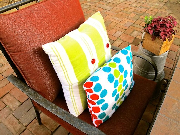 Outdoor Furniture Cushion Cleaning